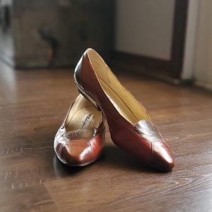 Enzo Angolini Leather Flats